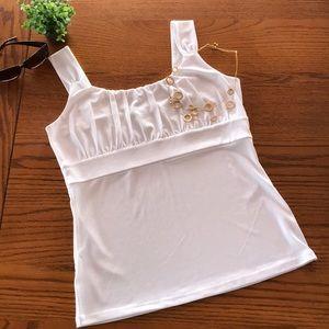 Ann Taylor Tops - Ann Taylor size M white, tank top
